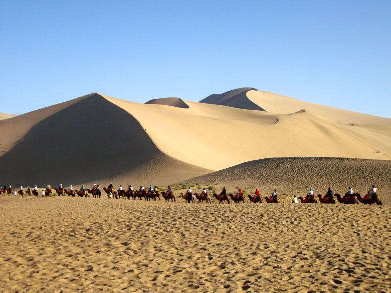 dunhuang muslim Since dunhuang was an oasis city that marked the end of the taklamakan desert, silk road traders were grateful when they safely arrived to dunhuang, and many of them showed their gratitude by contributing to the construction of almost 1,000 buddhist caves at mogao.