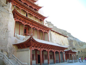 photo of Dunhuang Mogao Grottoes