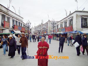 photo of Lhasa Barkhor Bazaar
