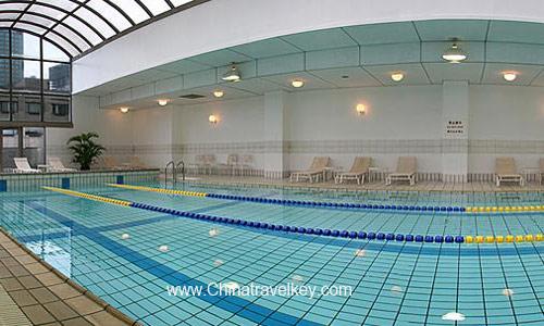 Pool Of Okura Garden Hotel Shanghai