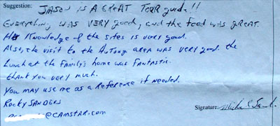 Beijing Tour Testimonial. Click here to see more.