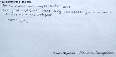 Chengdu tour testimonial, click here to see more.