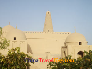 photo of turpan emin minaret