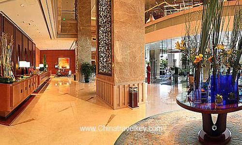 Lobby Of Pudong Shangri La Hotel Shanghai